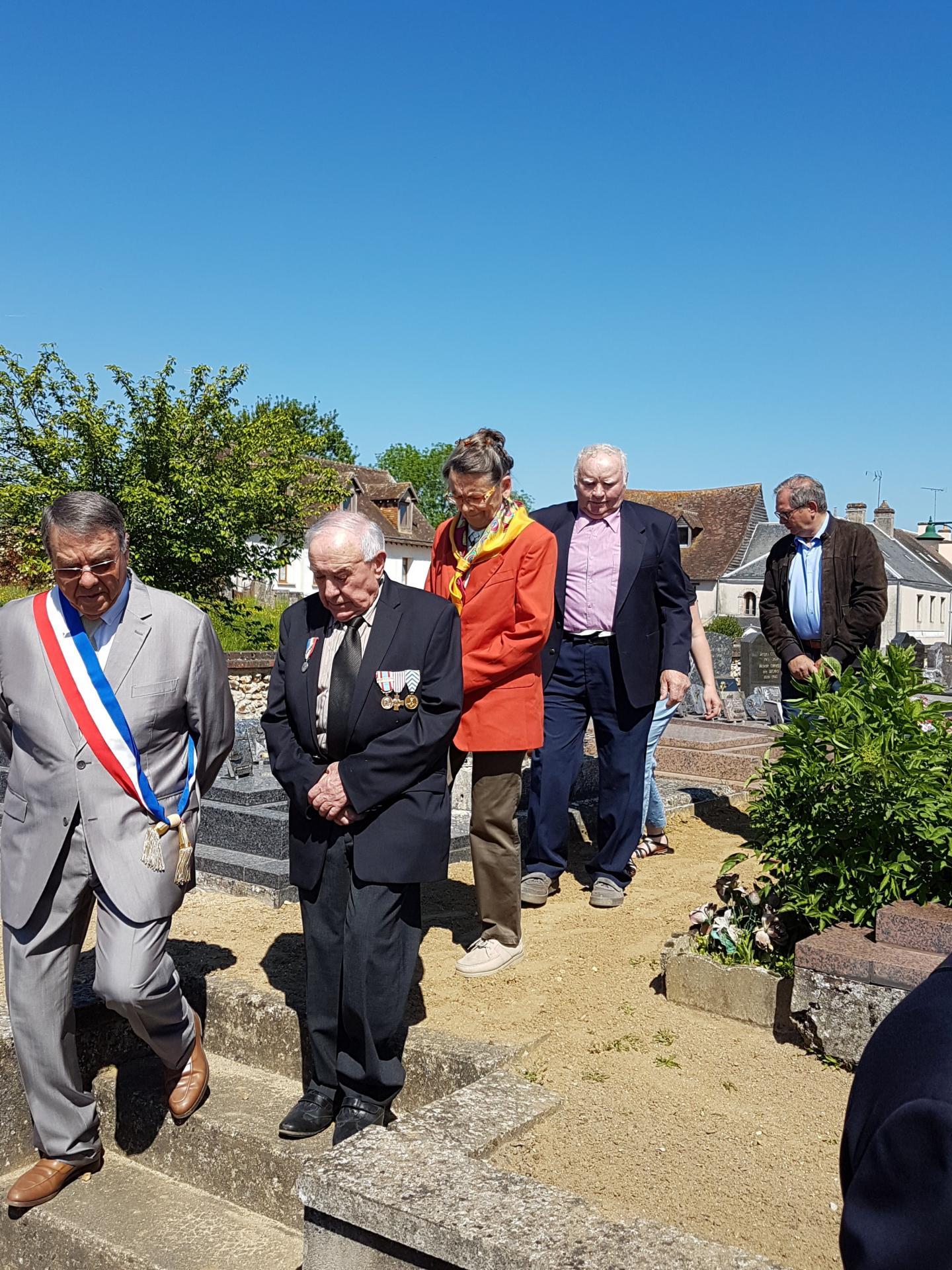 Maurice GENETAY Défilé du 8 Mai 2018