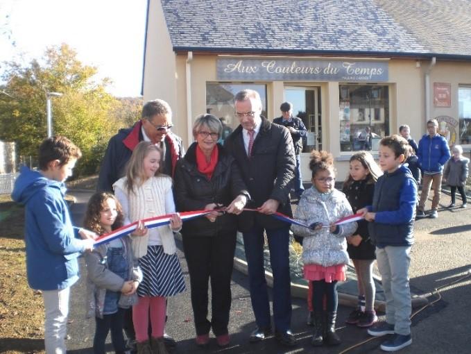 Inauguration nouvelle entrée de l'école 05 Novembre 2016